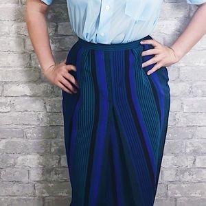 Dresses & Skirts - Vintage designer 100% wool high waisted skirt.